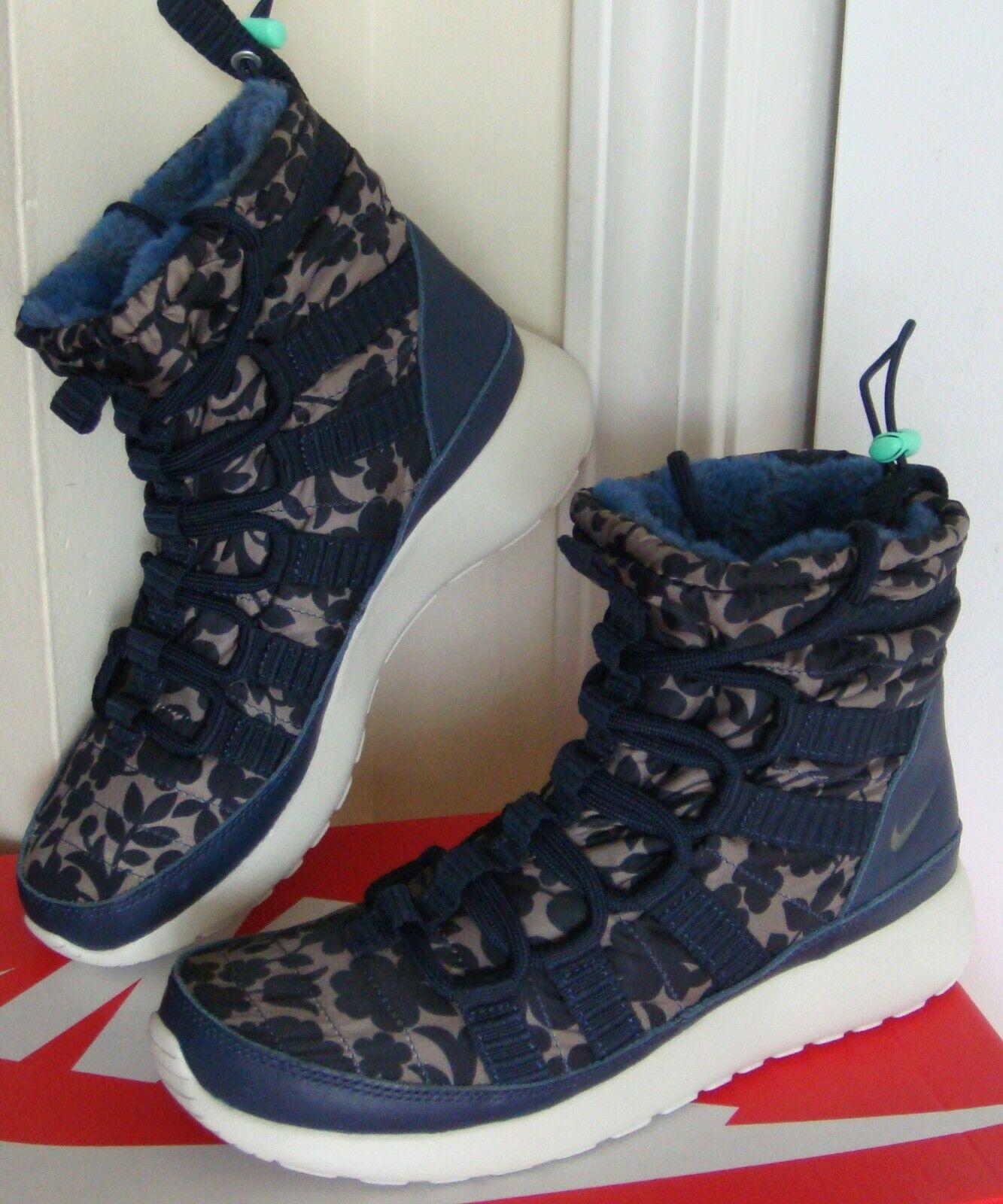 150 Women's Nike Roshe One Hi LIB shoes Boots 821776 400 - Sz. 6