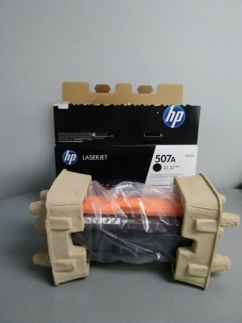 HP CE400A 507A Black Standard Yield Toner Cartridge  Open box