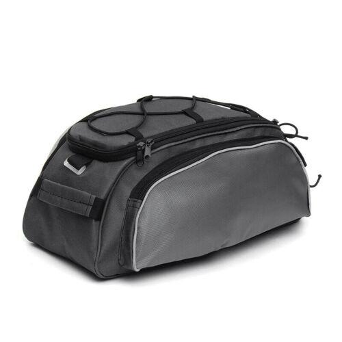 Bicycle Seat Rear Bag Bike Pannier Rack Pack Shoulder Handbag Cycling Carrier