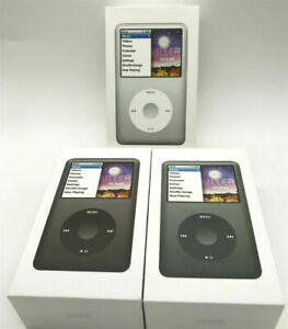 NEW Apple iPod classic 6th Generation 80GB Black/Silver  MP3 MP4 Player Sealed
