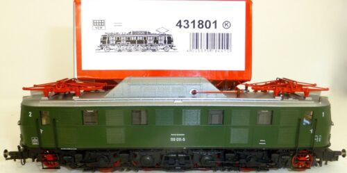 E 119 011-5 ellok DB verde DSS Fleischmann 431801 OVP h0 nuevo kc2 Å *