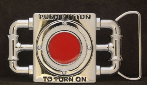Push Button To Turn On Belt Buckle