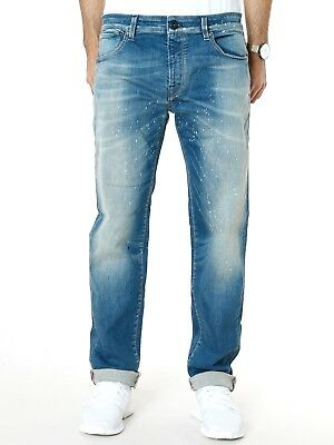 Brillant Jack & Jones Herren Slim Fit Stretch Jeans | o Tim Reagan Painted | w33 L32 Diversifizierte Neueste Designs
