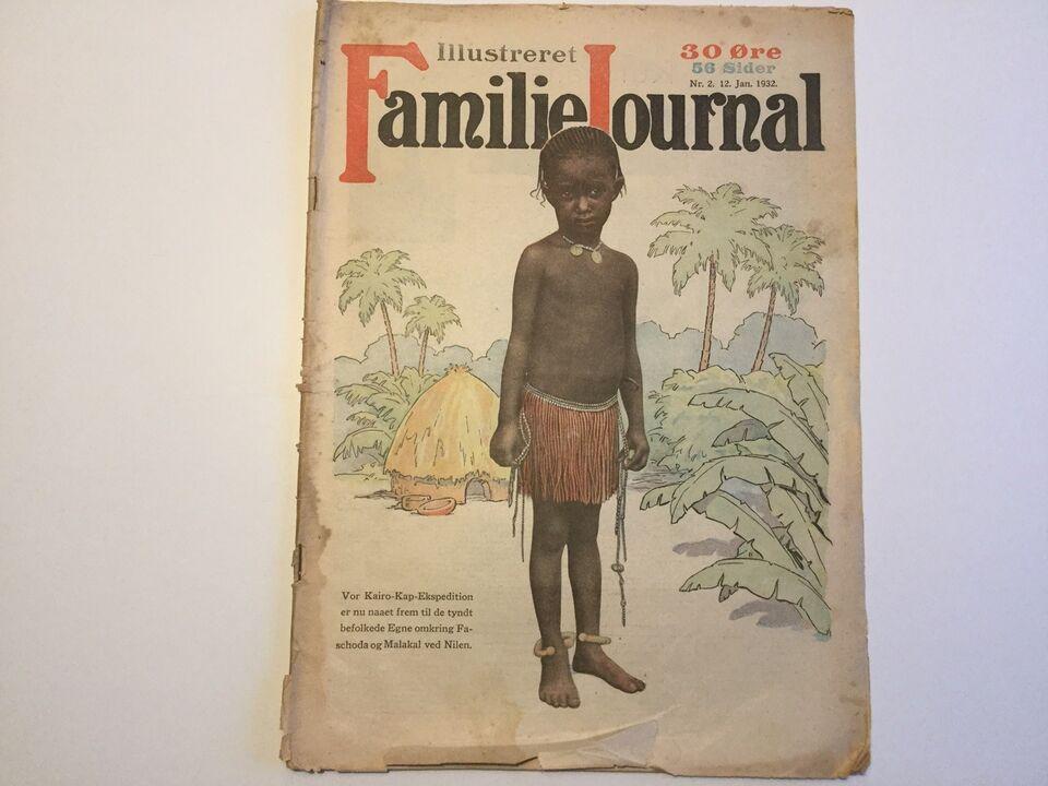 Illustreret Familie Journal, Blad