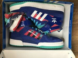 Adidas-Consortium-Forum-Mid-x-Patta-UK-9-5-Deadstock-Excellent-Condition