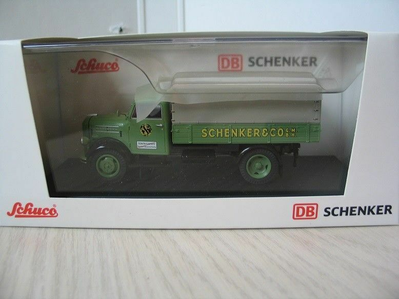 SCARCE SCHUCO BORGWARD B 2500 SCHENKER DB PROMO 1 OF 500 GERMAN ISSUE 1 43