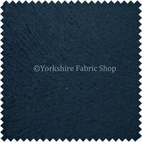 New Dark Blue Colour Soft Velvet Upholstery Fabric In Embossed Self Design