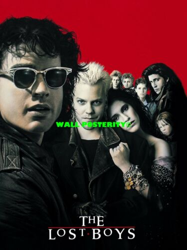 B Canvas or Poster 80s Poster THE LOST BOYS PRINT Choose Size /& Media Type