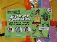 Teenage Mutant Ninja Turtles Pajamas One Piece Kigurumi Eye Masks Costume Adult