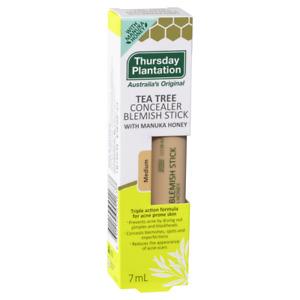Thursday Plantation Tea Tree Concealer Blemish Stick 7mL - Medium Triple Action