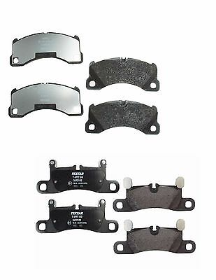 For Porsche Cayenne 11-16 Front+Rear Brake Pad Set Textar 2500701//2472102