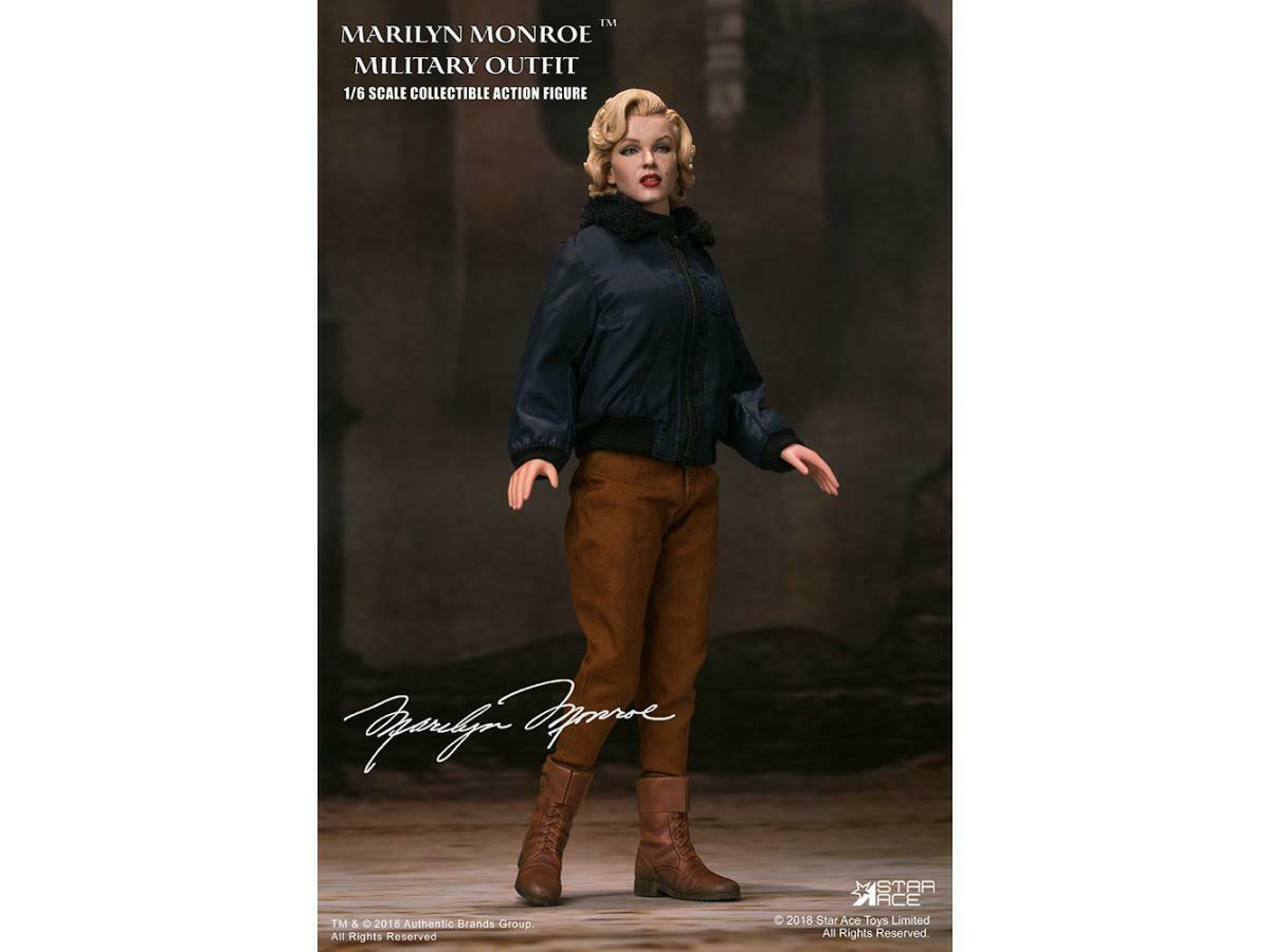 estrella ACE MARILYN MONROE MILITARY OUTFIT 16 FIG azione cifra