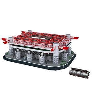 Puzzle-3D-Italian-San-Siro-Campo-da-calcio-Modello-Self-Assembly-Puzzle