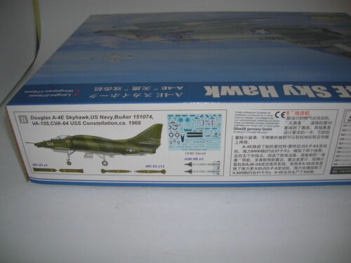 Hobby Boss A-4E Sky Hawk 1:48 Bausatz Model Kit Art 81764 Flugzeug Jet