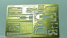 1/48th WWII MC 1/48-4005 PhotoEtch Brass - Su-27 SUKHOI  made in USA