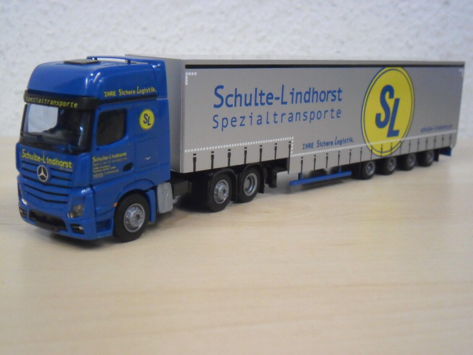 AWM - MB Actros GigaSpace Meusburger VolSZ  Schulte-Lindhorst  - 8662.81 - 1 87
