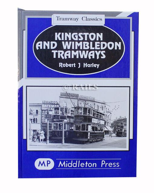Kingston and Wimbledon Tramways by Robert J. Harley (Hardback, 1995)