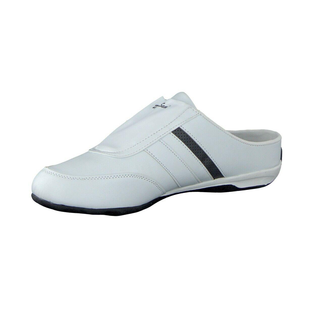 4a27866d3 Sam men Sabots Sneakers con Righe