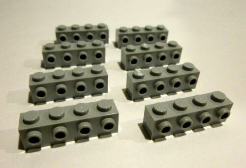 8 x LEGO® 30414Systemstein Snoter °Konverter°in 1x4 neuhellgrau Neuware.