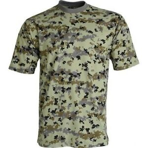 "T-shirt Camo Russian Army ""Border"" Military, Hunting Fishing, Brand New"