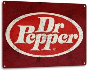 Dr-Pepper-Vintage-Rustic-Retro-Tin-Metal-Sign