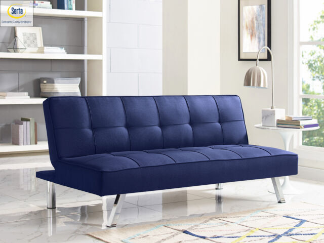 Futon Sofa Bed Comfy Couch Split