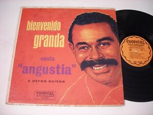 Bienvenido Granda Canta Angustia Y Otros Exitos 1956 Lp Vg Ebay