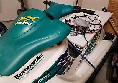 Sea Doo 1996 SPX 717 Electrical Box ECU CDI Wiring Harness ...