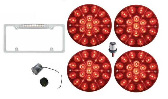 United Pacific Led Tail Light Set 1980