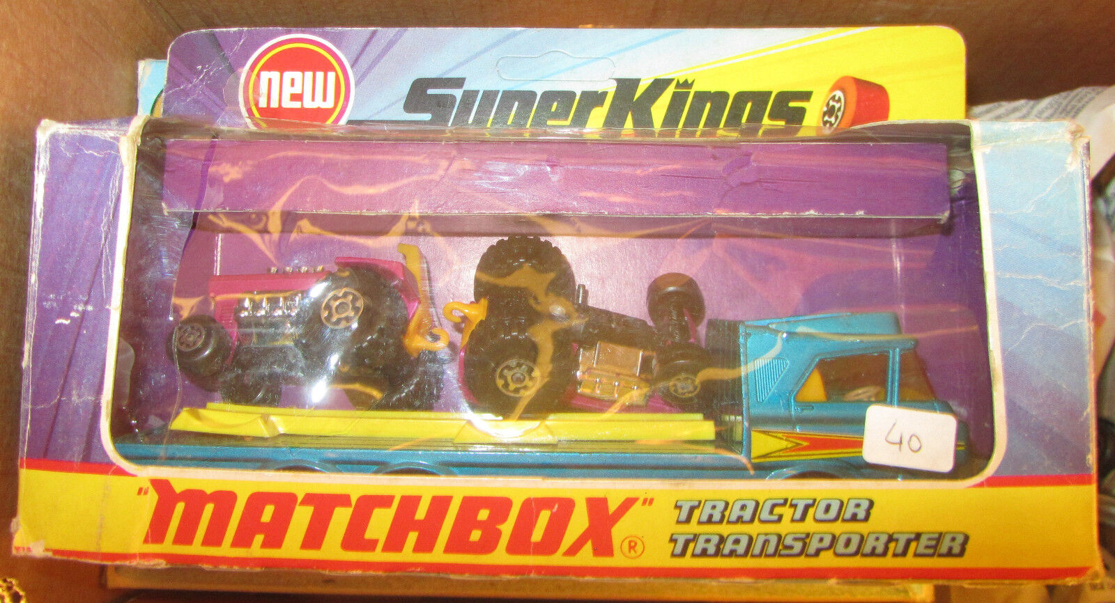 Obtén lo ultimo MATCHBOX súperKINGS súperKINGS súperKINGS K-21 TRACTOR TRANSPORTER + Trattori SPESE GRATIS  autorización