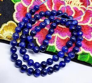 "Rare Bleu Cyanite Perles Rondes 6mm 16 "" Phénoménal Brillant Naturel cHU0jAuY-09122639-192196078"