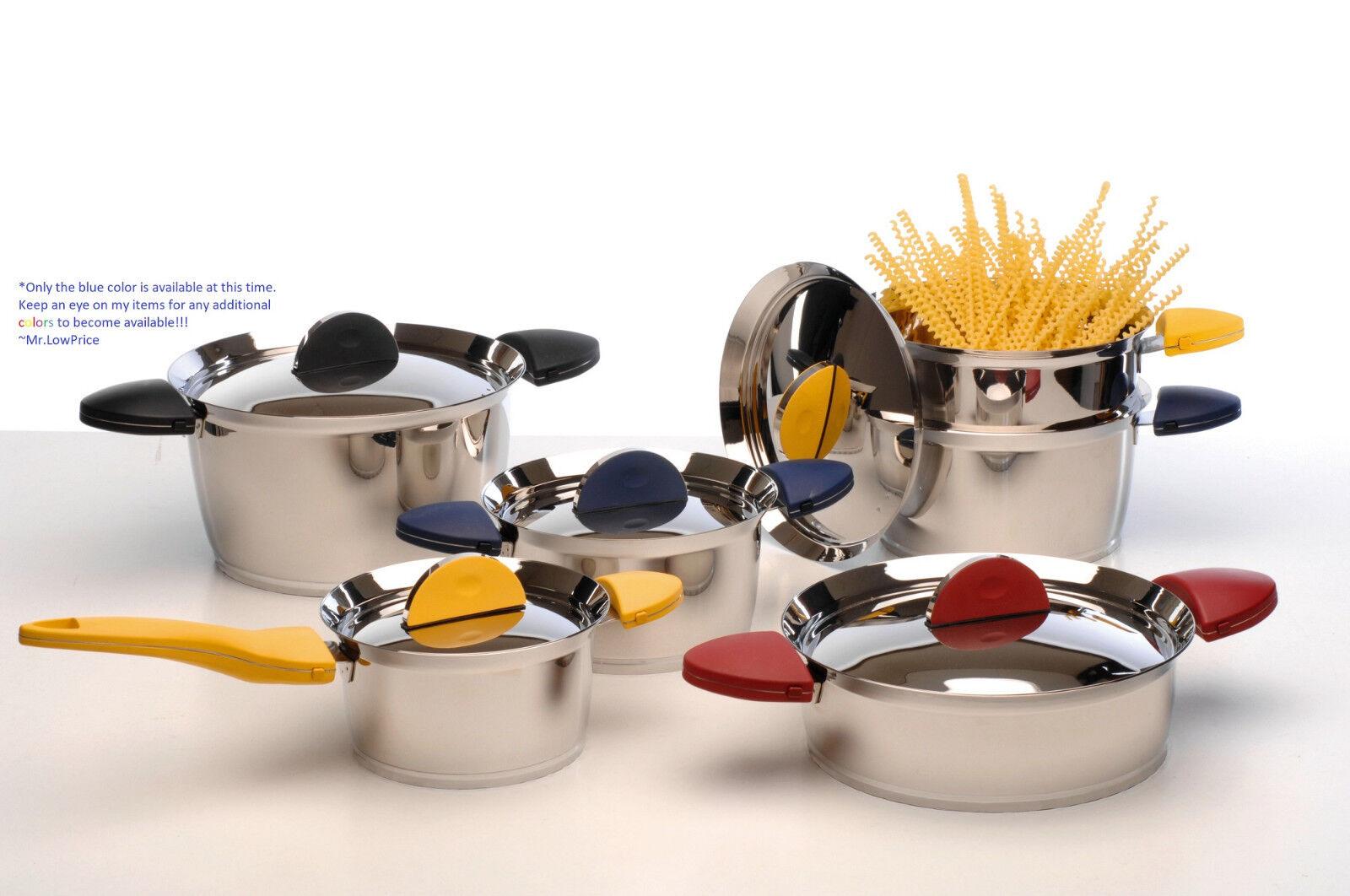 BergHOFF- Stacca 11-Piece Cookware Set- 1112527B
