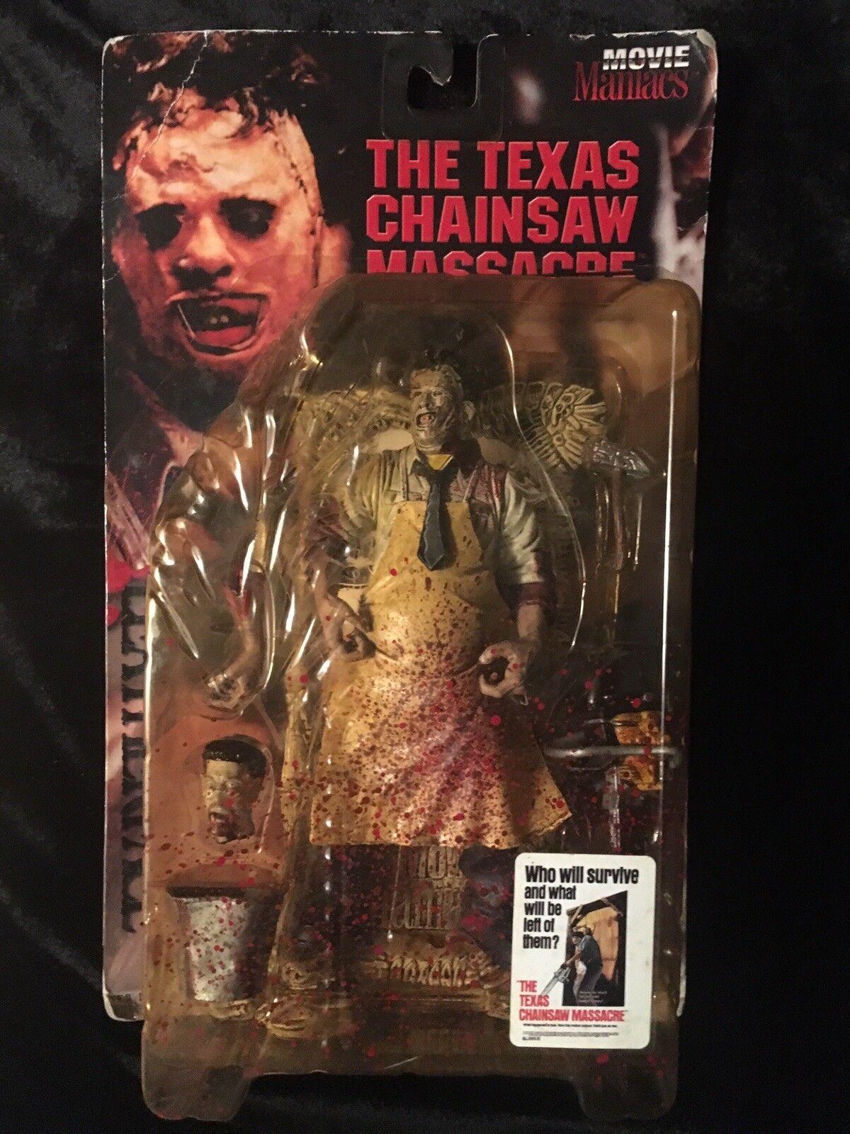 Mcfarlane spielzeug der texas chainsaw massacre  leatherface  - serie 1 - bild