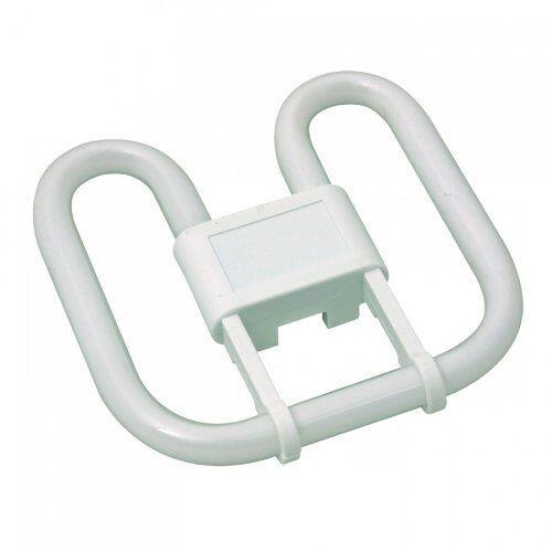 Standard White Compact Fluorescent Lamp Kosnic 38W 4-Pin GR10q Cap 2D 3500K
