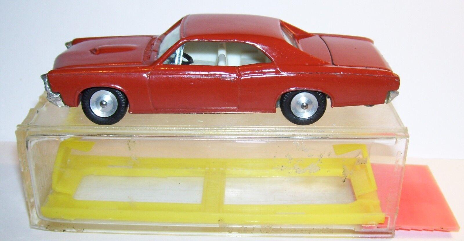 OLD RARE GAMDA KOOR SABRA  idem CRAGSTAN PONTIAC GTO 1969 REF 8107 ISRAEL IN BOX  prix bas 40%