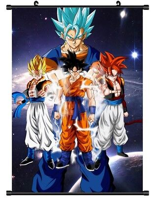 "Hot Japan Anime Dragon Ball Z Son Goku Home Decor Poster Wall Scroll 8/""x12/"" P13"