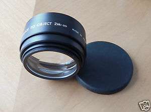 Star-D-Auxiliary-Lens-Set-Telephoto-amp-Wide-Angle-SD-6602-Canon-AF-35M