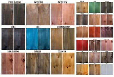 Blushing Beech Littlefair's Water Based Rustic Shabby Chic Wood Stain and Dye