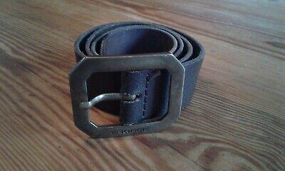 Energie Cintura In Pelle, Taglia 32, Made In Italy-mostra Il Titolo Originale