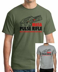 ALIEN-M41A-PULSE-RIFLE-T-shirt-Up-to-5XLarge