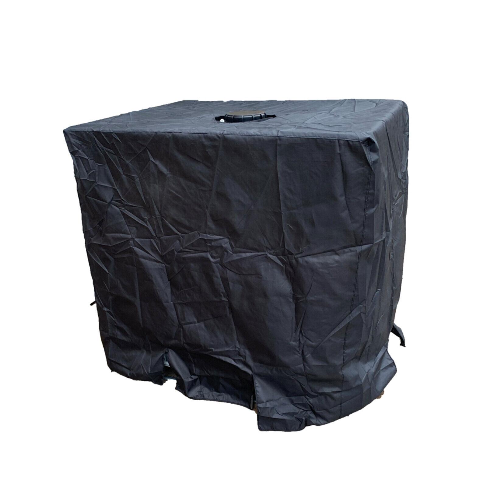 Ton Barrel Cover Rain Barrels 210D Oxford Cloth Silver-Coated Anti-Dust