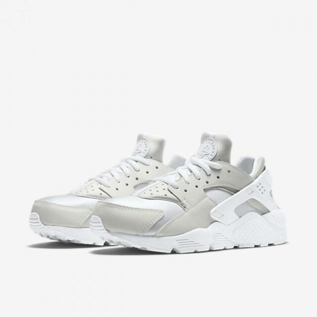 competitive price b1a53 fd2ae ... top quality wmns nike air huarache run 634835 108 white white leather  mesh neoprene 23d61 4920a