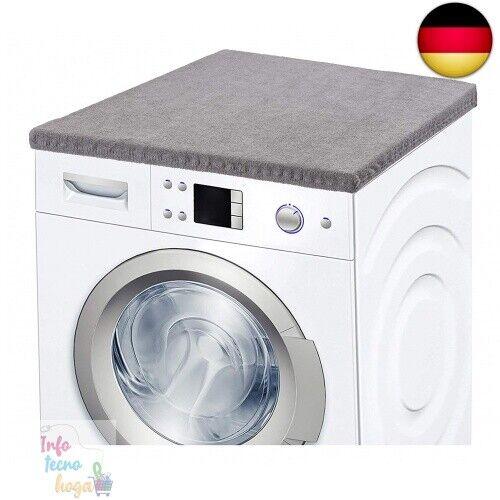 Dunkelgrau Ladeheid Waschmaschinenbezug Frotteebezug 50x60 cm Dunkelgrau
