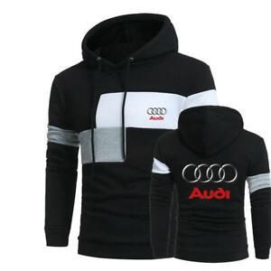 Audi Logo Hoody Sweat à capuche Haut à Capuche