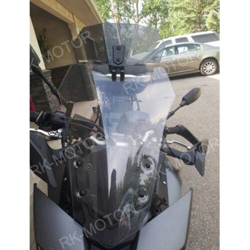 Adjustable Clip On Windshield Spoiler for 2007 2008 Kawasaki Z1000 2004-2015