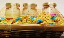 Honig Bio Set im Präsent Korb 3 Sorten Honig & 200g Honigbonbons Imkerqualität !