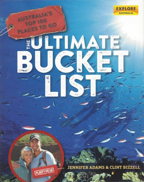 Australia's Top 100 Places To Go – The Ultimate Bucket List *FREE SHIPPING*