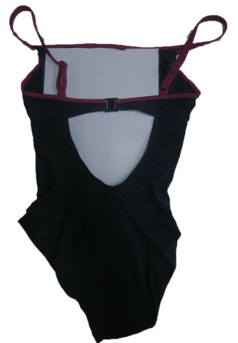 New Womens Marks /& Spencer Pink /& Blue Swimming Costume Size 32 D