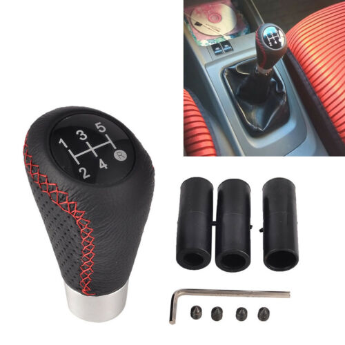 Universal 5-Speed Manual Car Auto Gear Shift Knob Lever Stick Shifter Handle