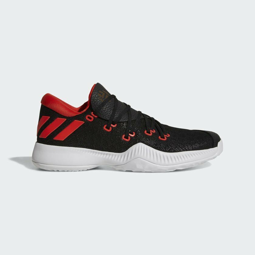 Adidas Men Harden Basketball shoes James Black White-Red AC7820 UK6.5-10.5 03'
